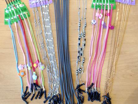 Cordons et chainettes